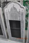 памятник резной большая мечеть с гранитной вставкой 300х600
